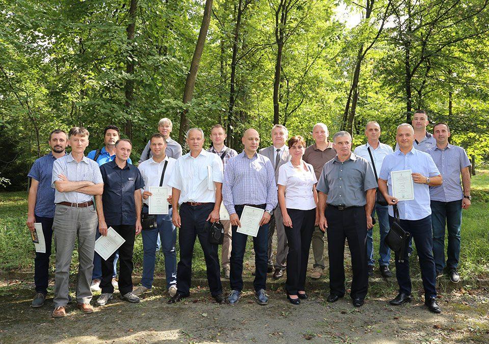 Свечана додела првих лиценци у шумарству